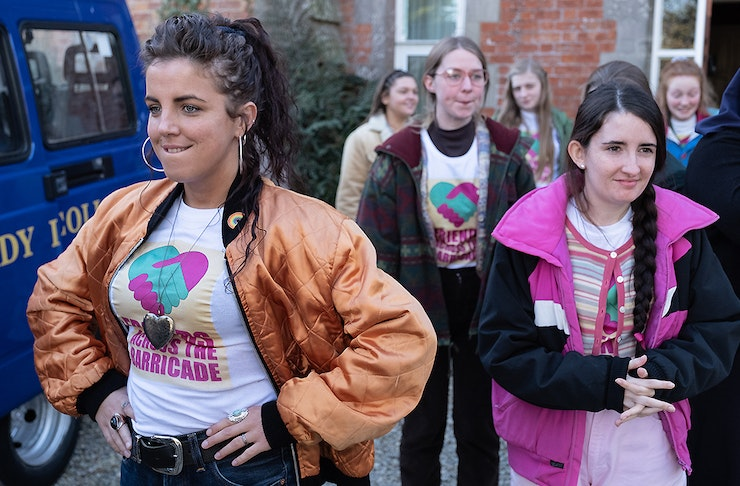Scene from Netflix's Derry Girls