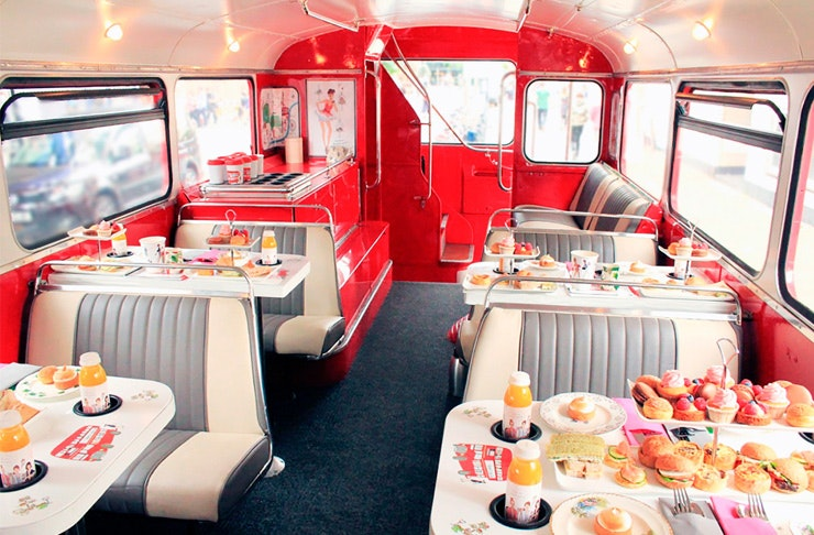double decker high tea