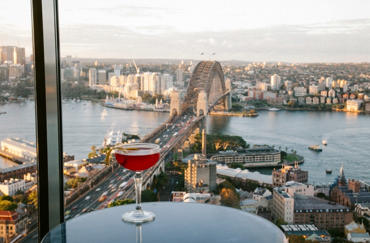 drinks with a view sydney