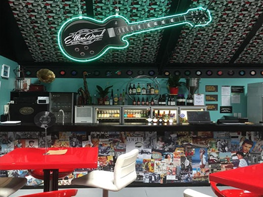 Head back to the 1950s and enjoy the social space, craft beer and street food of Auckland's Ellice Road.