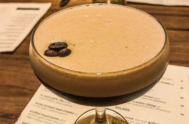 Espresso Martini at Everybody's