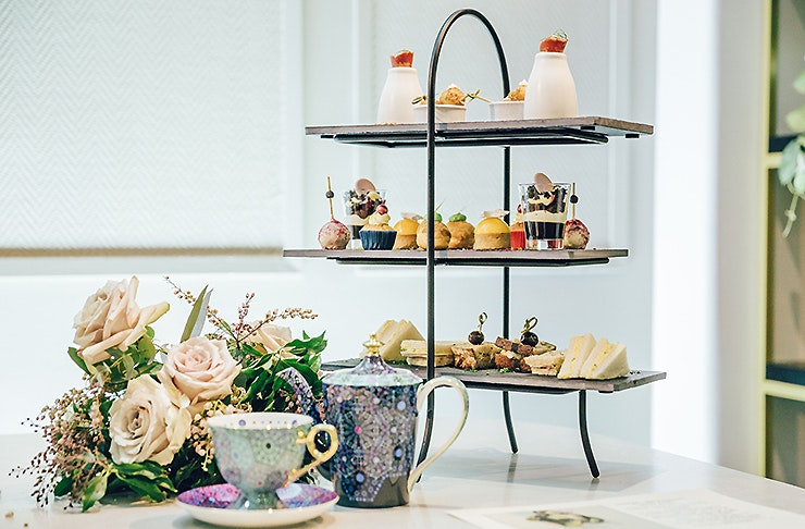 High Tea at the Hotel Grand Windsor