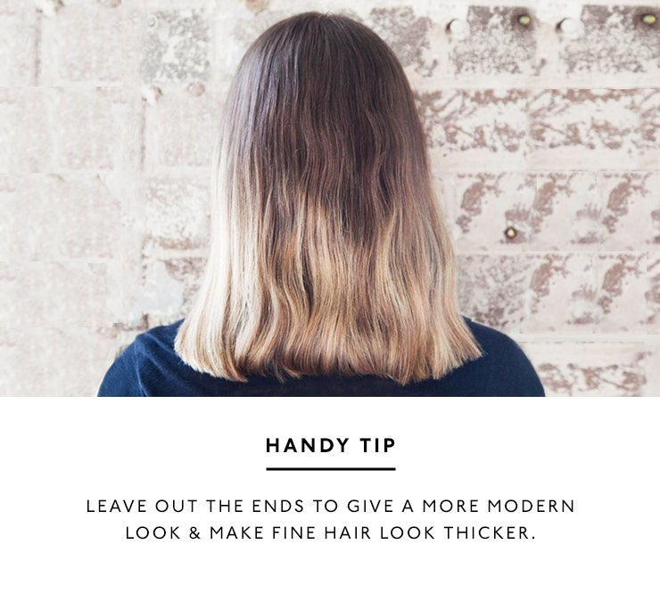 3 ways to style a lob