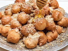 Devour Honey Puffs By The Plate-Load At This Greek Food Pop-Up