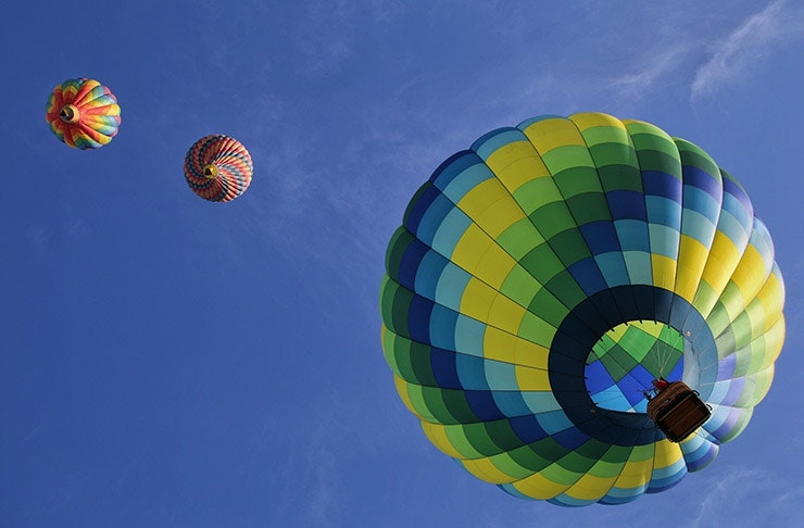 Where To Go Hot Air Ballooning In New Zealand