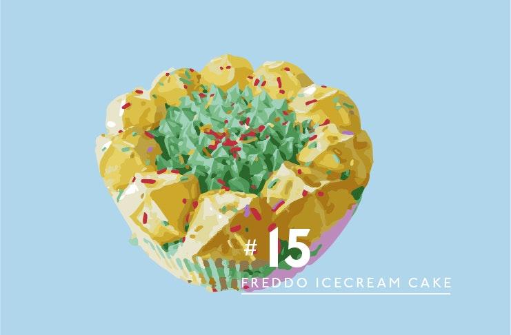 #16 Freddo Party Cake