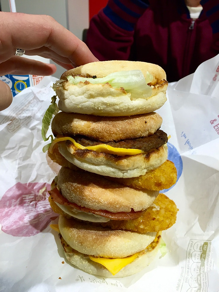Jimmy's Burgers Maccas Stack