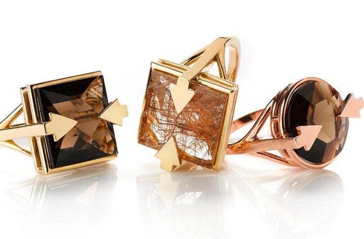 Karen Walker jewellery, Galactic collection Karen Walker, New Zealand jewellery