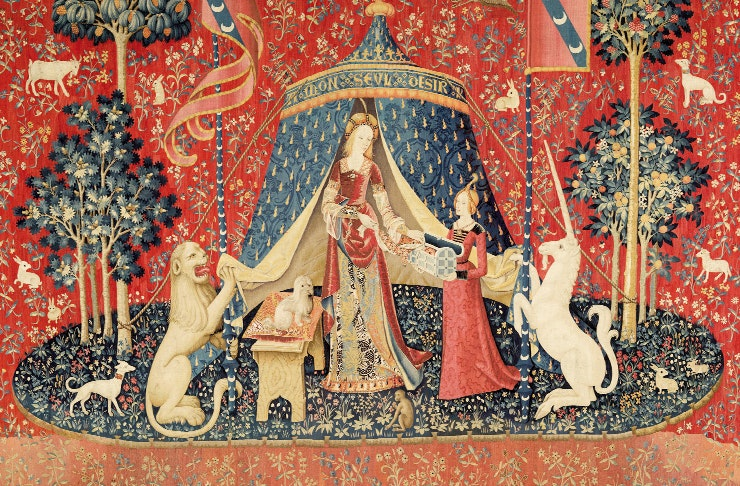the lady and the unicorn exhibition