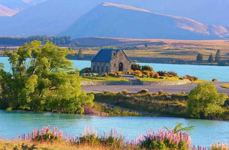 lake tekapo south island