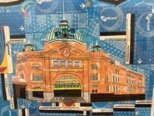 Gaze Upon This Mural Of Melbourne Made Entirely Out Of Metcards
