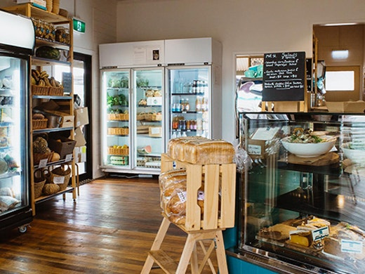 The interior of the Mill St. Kitchen & Pantry.