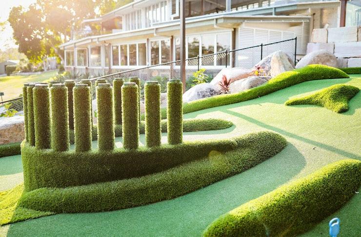 Mini Golf Course Brisbane