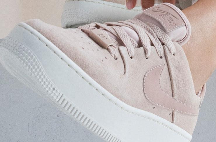 scarpe nike air force 1 sage rosa