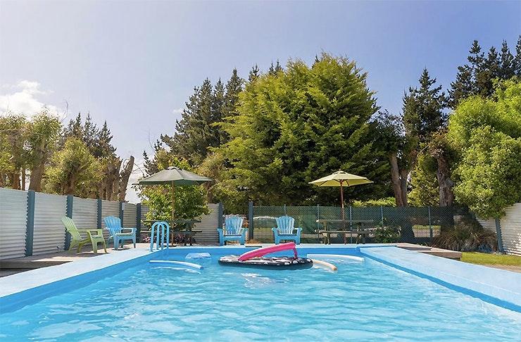 Swimming pool at North South Holiday Park
