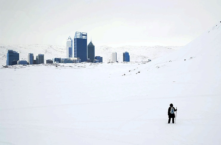 Snow Is Forecast For Perth Today