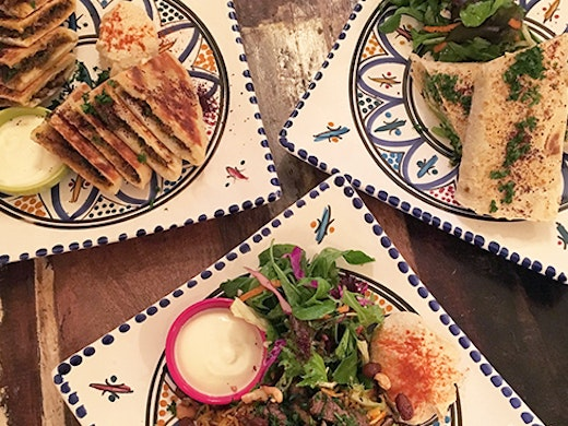 While Petra Shawarma isn't much to look at from the outside, the Middle Eastern restaurant makes up for its lack of interior design with its flavoursome eats and friendly service.