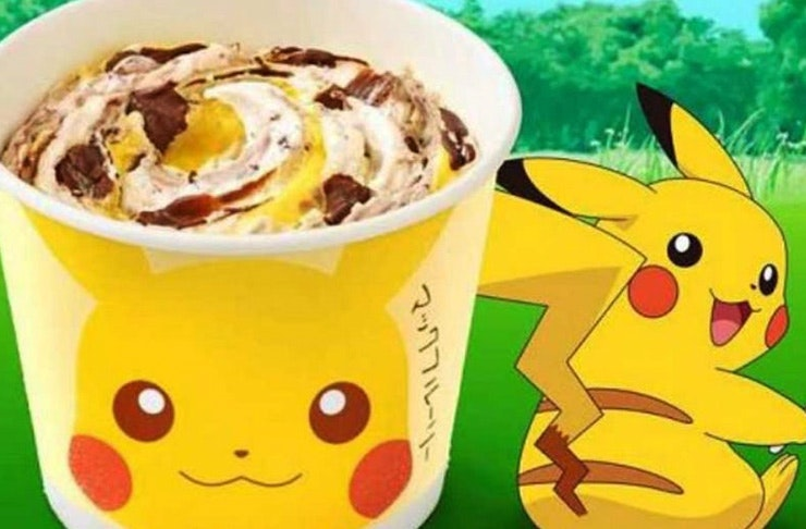 pikachu mcflurry