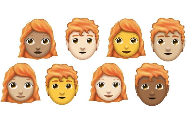 Redhead Emojis Are Finally Here!