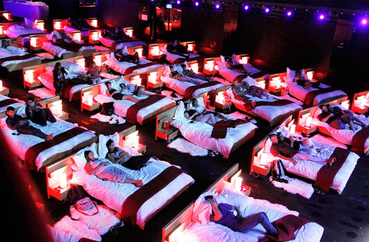 Snuggle In At Auckland's Very First Bed Cinema