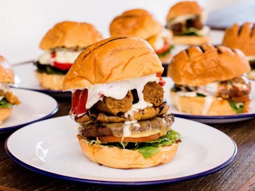 vegetarian burger in sydney