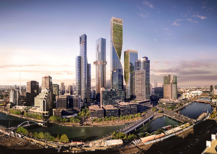 Stare Up At Southbank By Beulah, Which Will Be Australia's Tallest Tower