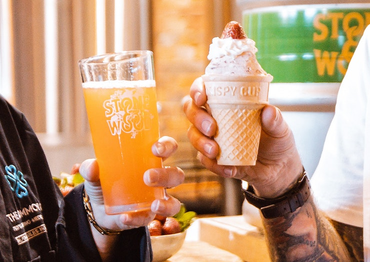 Drink Up, Stone & Wood Is Currently Brewing A Strawberry Sundae Beer For Ekka