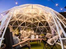 Rug Up, You Can Dine In A Magical Pop-Up Igloo At This Sunshine Coast Pub