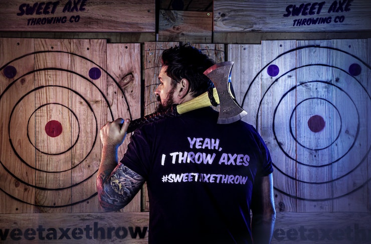 Axe throwing comes to Auckland