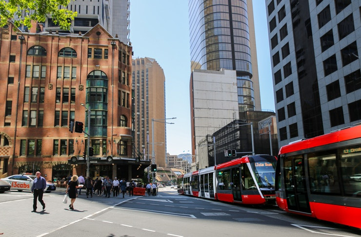The Morrison Free Tram Party