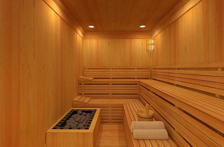 tiny sauna on wheels perth