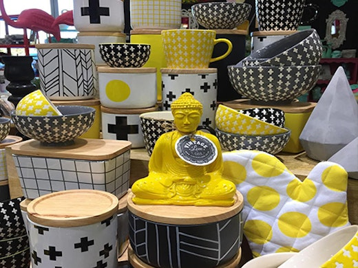 For lovers of stuff, quirky, bright, retro delights, at an affordable price visit Auckland's Vintage Love Shop