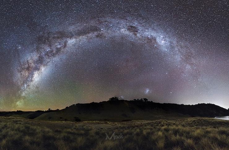 Panorama of Waiheke Sky