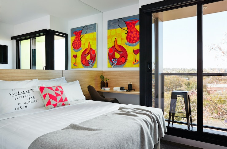 art hotel in Bendigo