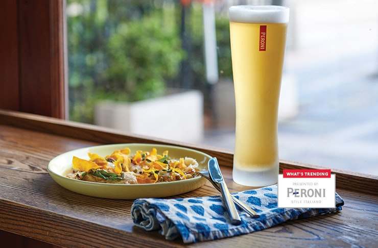 whats trending in Sydney with Peroni