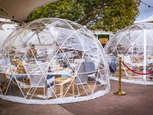 Get Cosy, You Can Dine In A Magical Pop-Up Igloo At This Fortitude Valley Bar