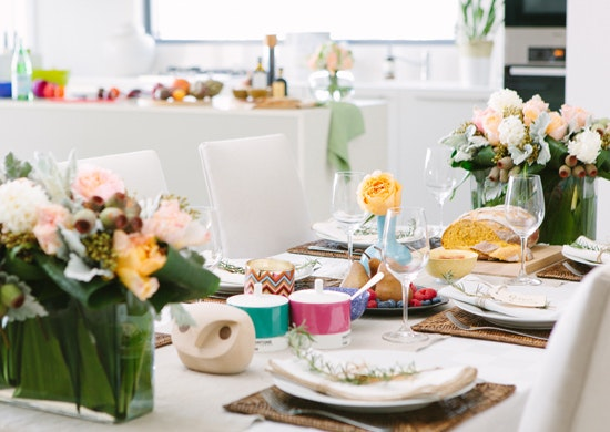 Dinner Party Styling Gasworks Newstead