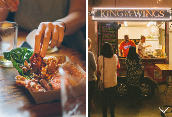 Brisbane's best food trucks king of the wings