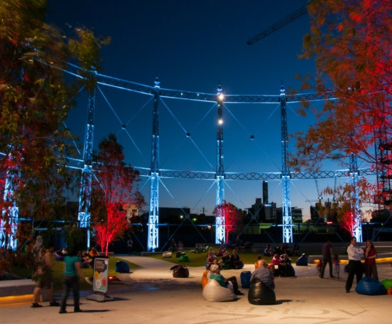 gasworks new stead official lighting ceremony