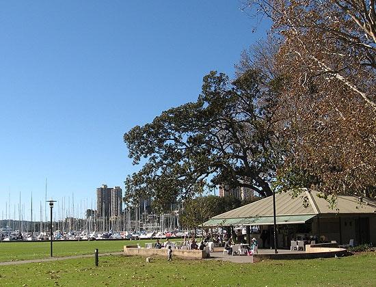 Rushcutter's Bay Park