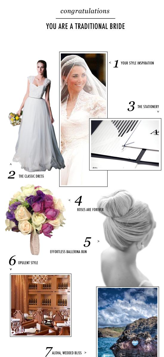 traditional bride bride personality
