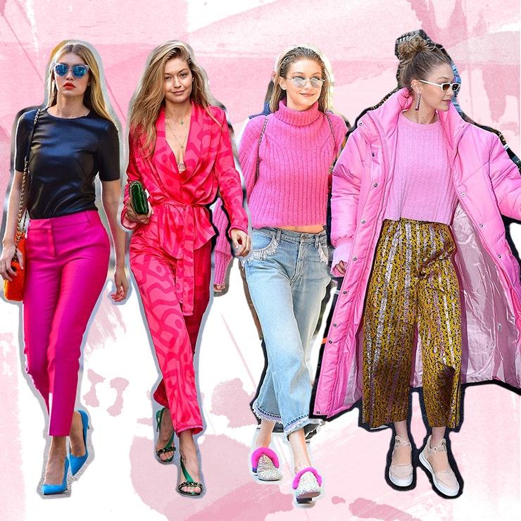 fashion-trend-hot-pink-gigi-hadid
