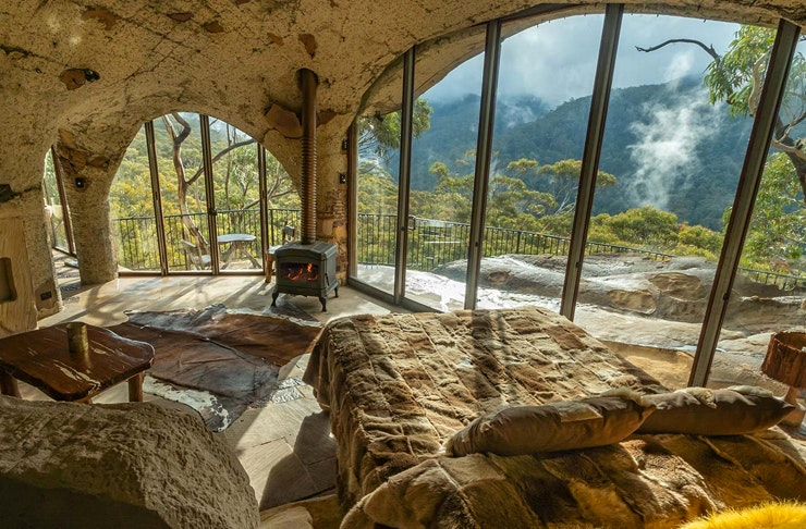 bedroom of bilpin's enchanted cave