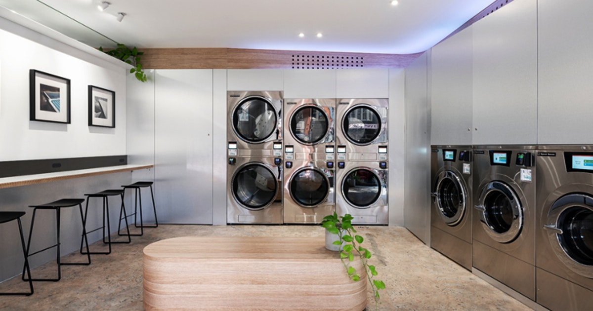 Get Washing The Right Way, Australia's First Sustainable Laundromat Just Opened In Sydney