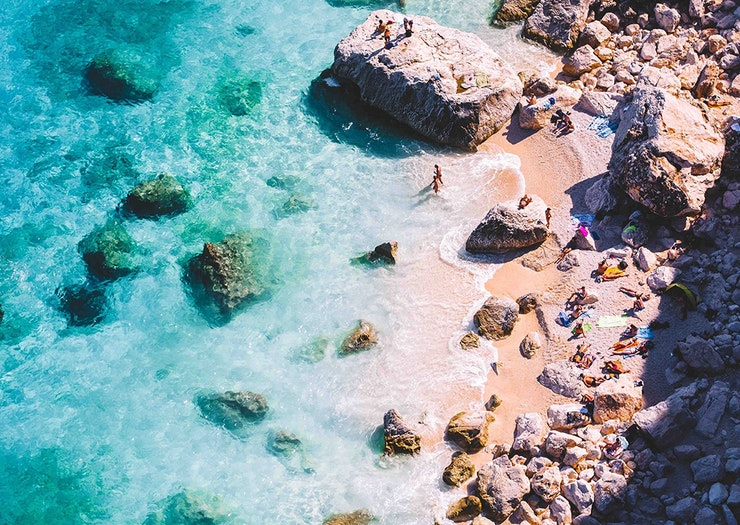 Grab Your Swimmers, This European Island Has Some Of The Bluest Water In The World