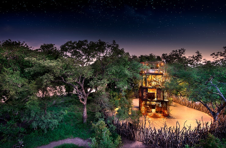 Ngala Treehouse South Africa